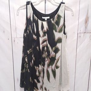 CAbi| Silhouette Silk Tunic #604